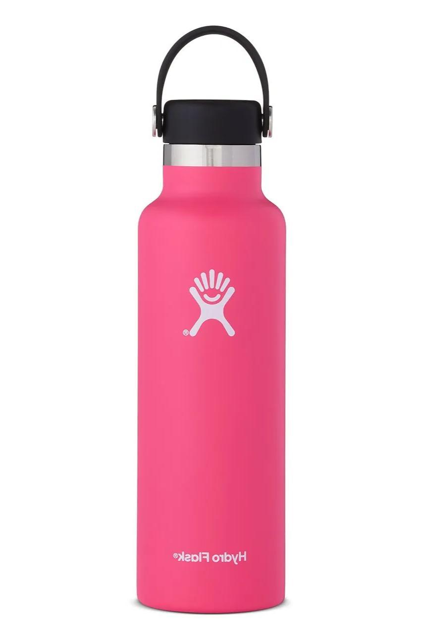 hydro flask standard mouth water bottle watermelon