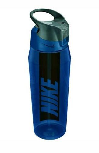 Nike HyperCharge Water Bottle , Free oz, Blue/Orange,02
