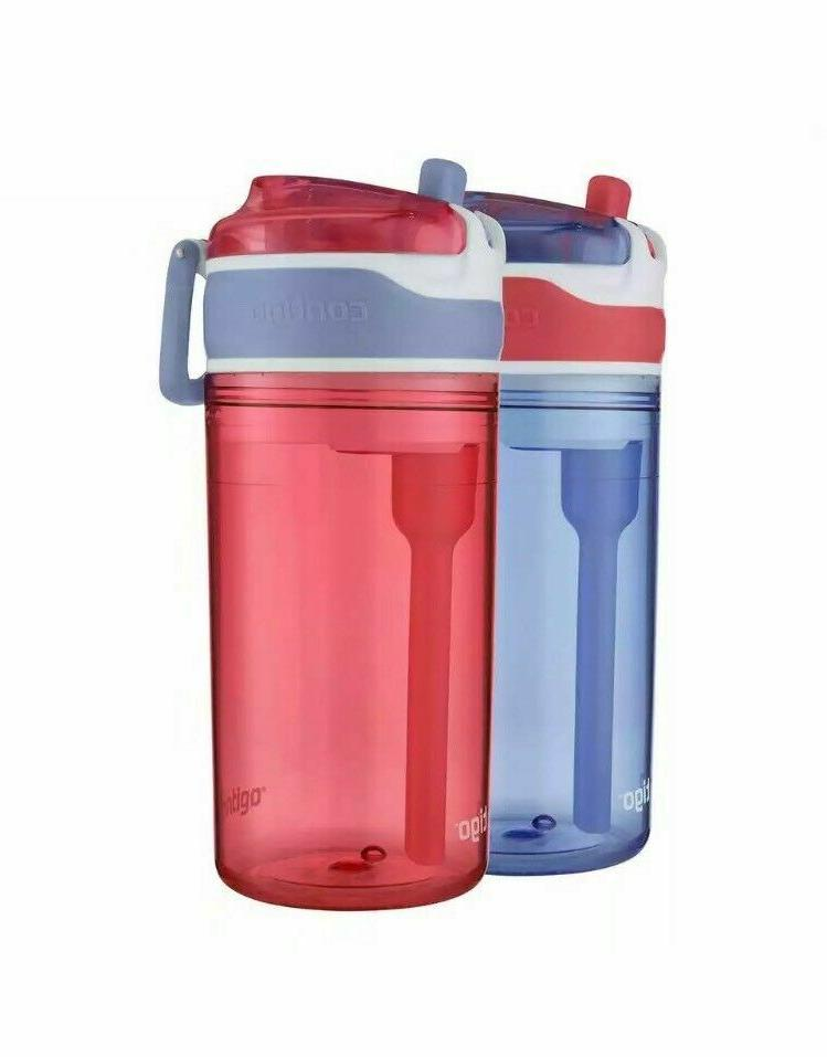 New Snack Water Bottle FREE Color/Pack
