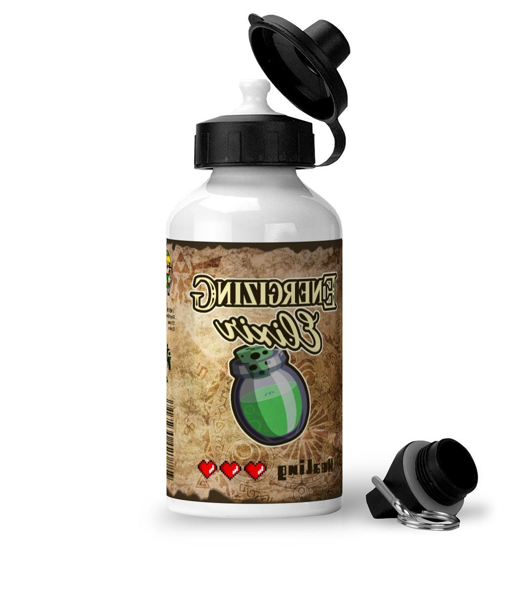 legend of zelda energizing elixir gamers aluminium