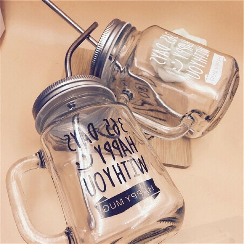 Mason Jar Mugs Classic Insulated Tumbler Water Bottle Metal