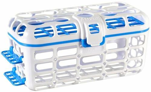 Munchkin - Deluxe dishwasher basket for baby bottles, pacifi