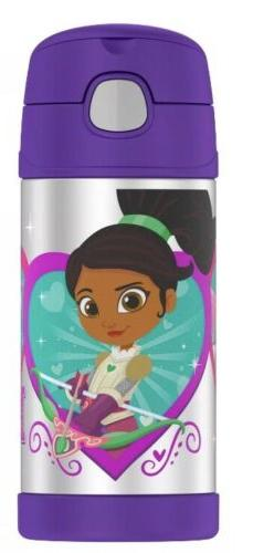 Thermos Nella The Princess Knight 12 oz FUNtainer Water Bott