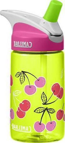 NEW 2017 Camelbak EDDY KIDS Water Bottle .4 Liters CHERRIES