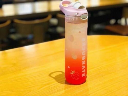 new china 2019 summer contigo pink strawberry
