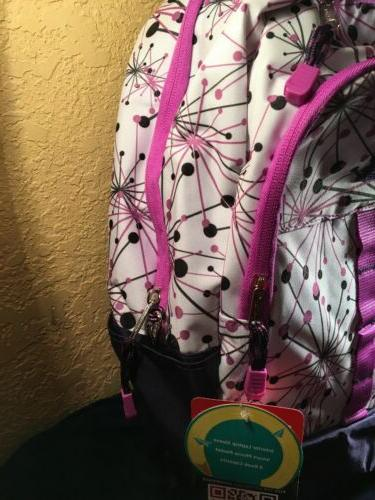 NWT Book Backpack Laptop Pocket