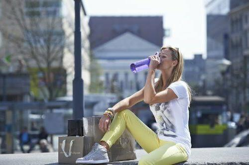Outdoor Water Bottle Contigo Grace 750 Spill Leak