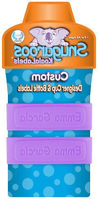 PACK of 2 Personalized Daycare Labels for Sippy Cups & Baby
