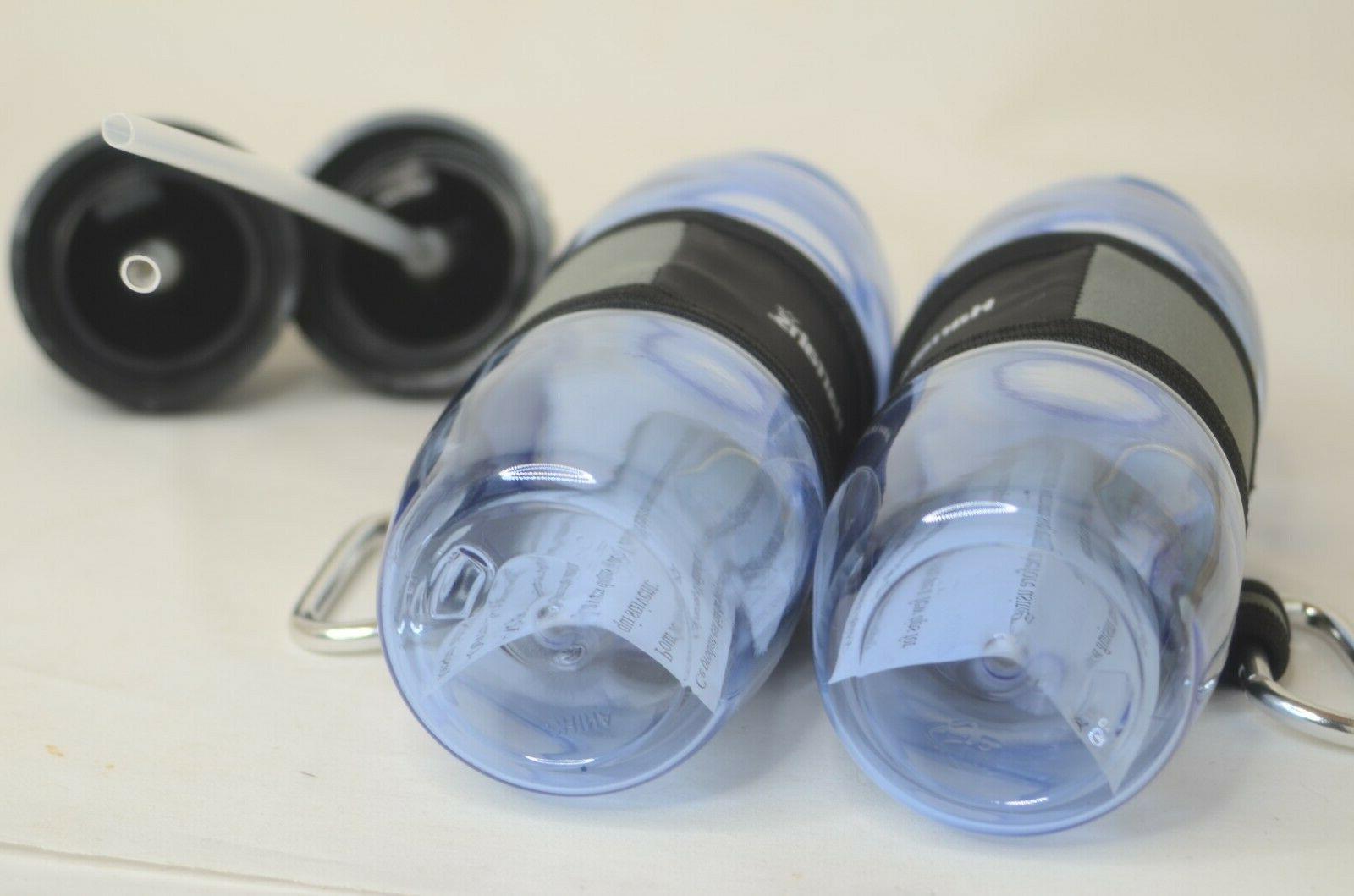 Harrah's Plastic Bottles Two & Straws