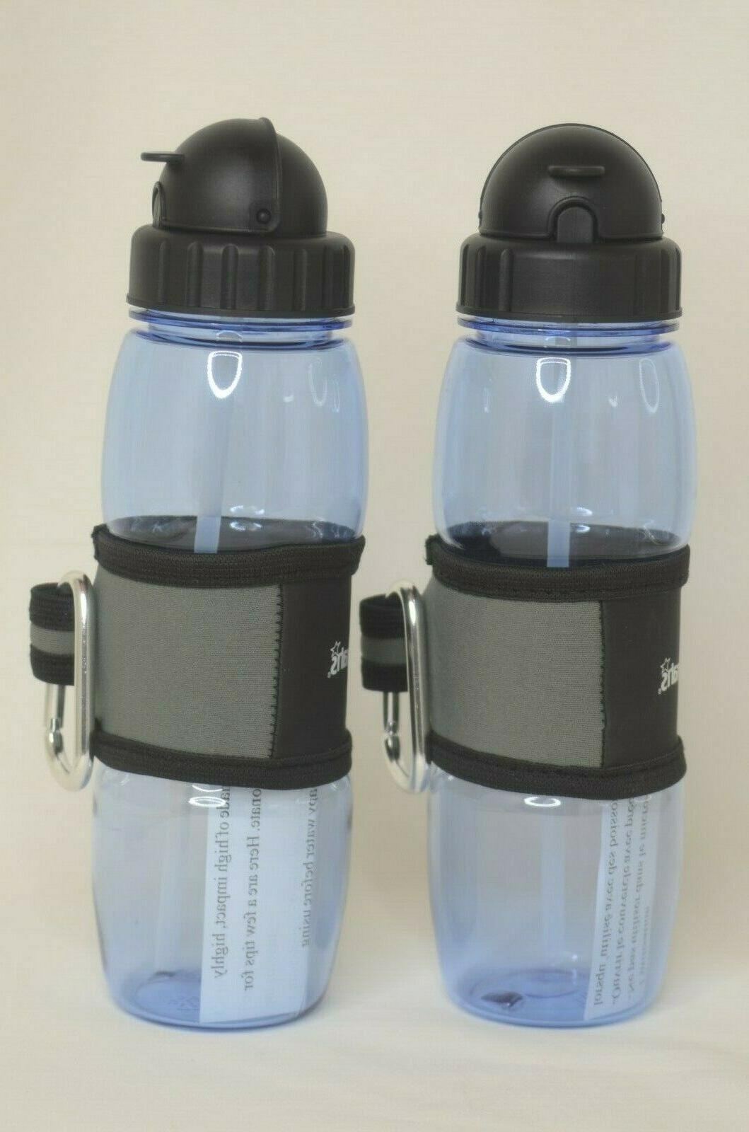 Harrah's Plastic Water Bottles Two with &