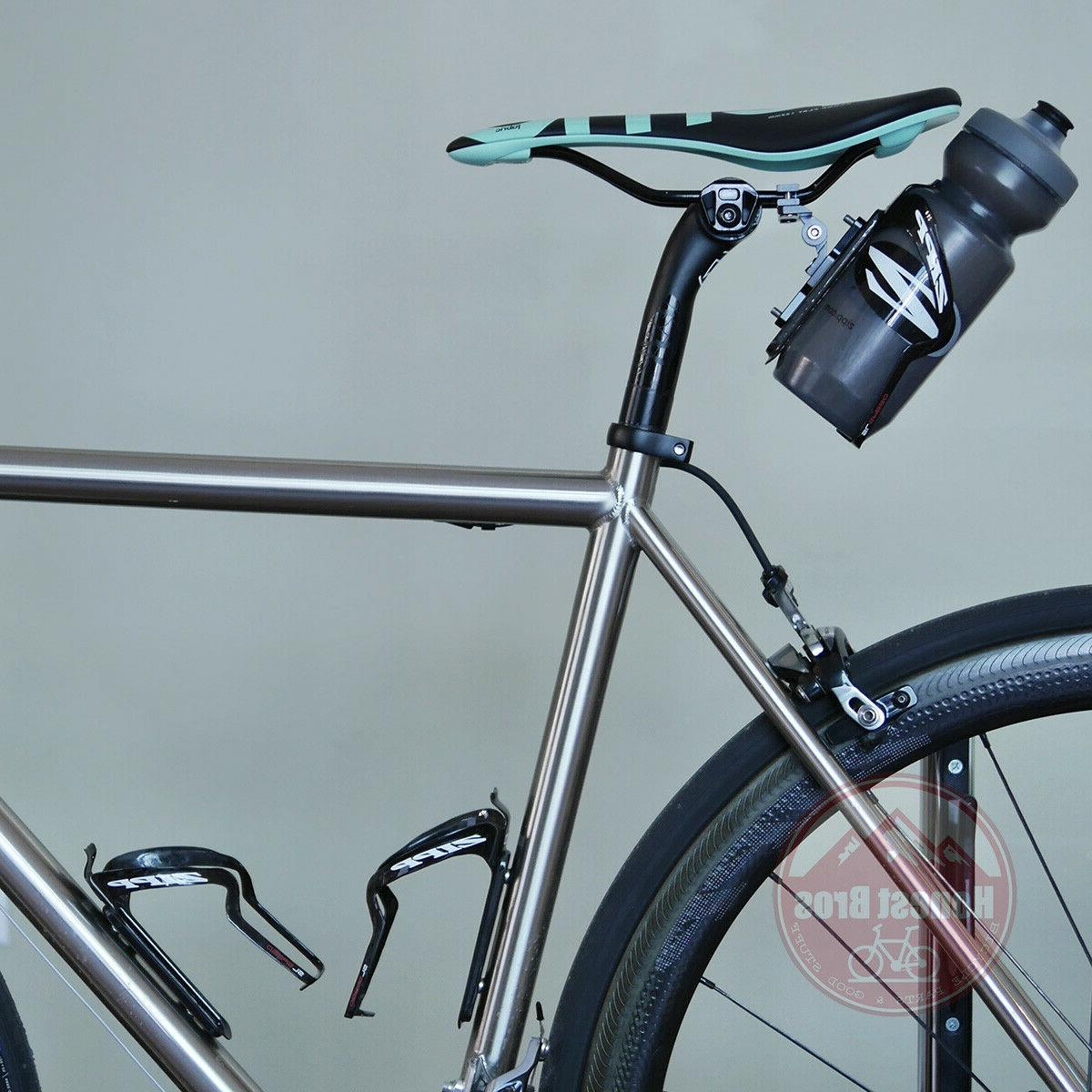 Saddle Mount Water Bottle Cage Holder Bicycle
