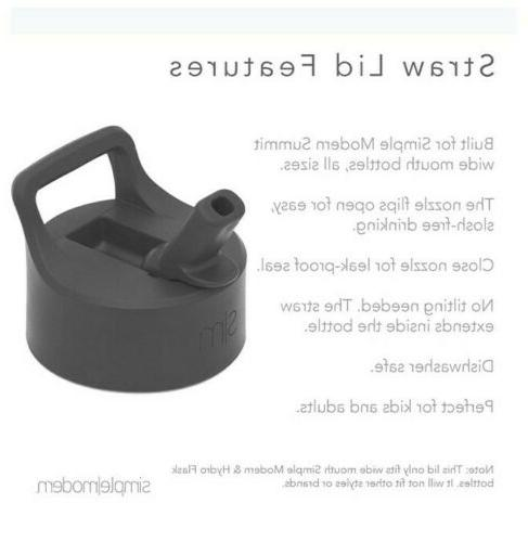 Simple Modern Summit Water Bottle Lid - Flip Handle,...