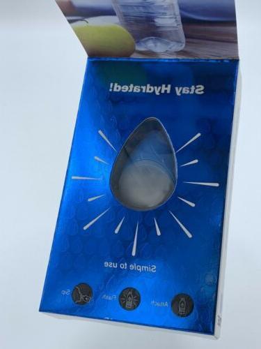 Smart Hydration Light Water H20 Bottles Attach Flash