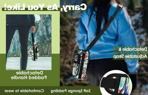 Sports Water Bottle Bag 2 Pocket