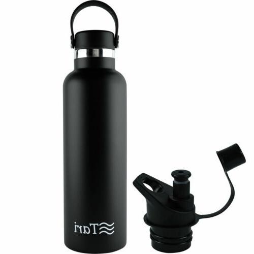 stainless steel bottle wide mouth leakproof flex