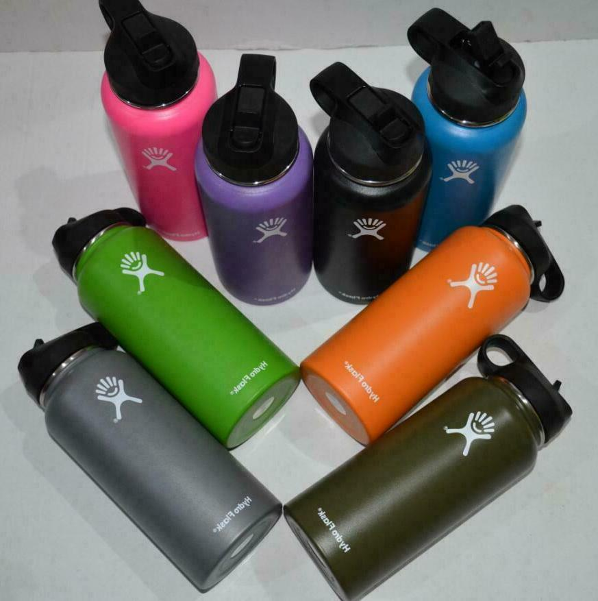 Hydro Water Thermos Straw Lid Drinking US Seller