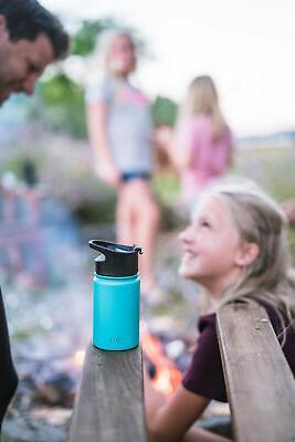 Simple Summit Water Bottle with & Steel Lid Vacuum