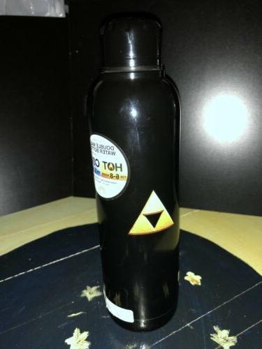 The Zelda TRIFORCE Stainless Steel Bottle BPA Flask