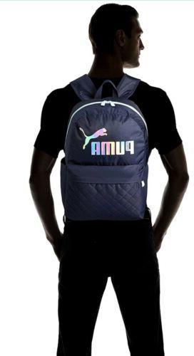 Unisex Puma Backpack & Bottle Pocket