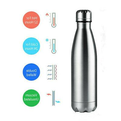 Water Bottle Stainless Keep Cool Sports Bottles USA