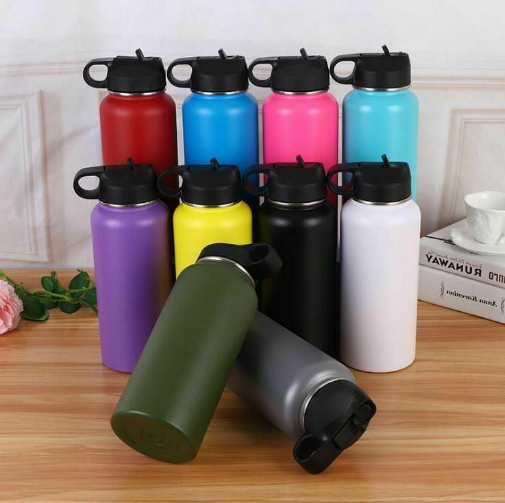 Water Bottle Hydro Double Walled Insulated Stainless Steel