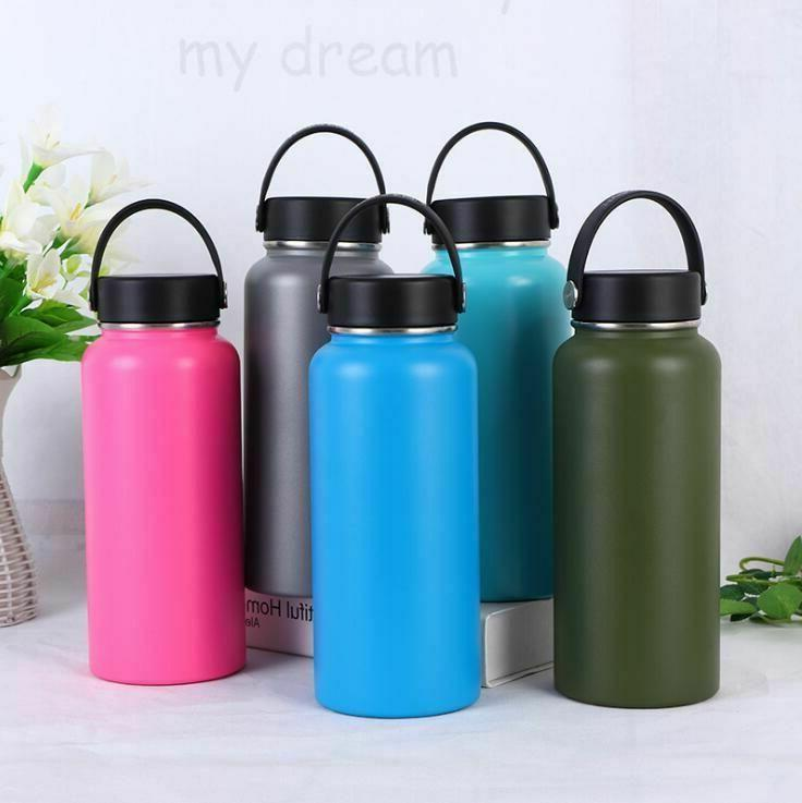 Water Mouth Flask Hydro Double Insulated Stainless Steel