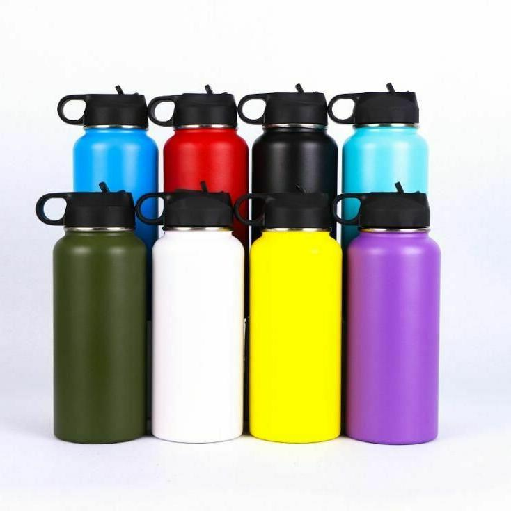 Water Bottle Mouth Flask Hydro Double Walled Vacuum Insulate