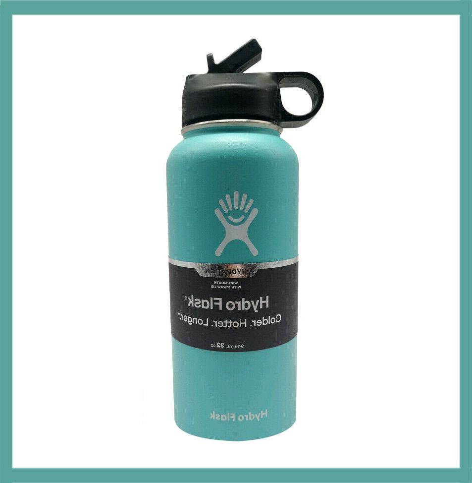 Hydro Water Bottle # 32OZ Steel Vacuum Insulated With Lid
