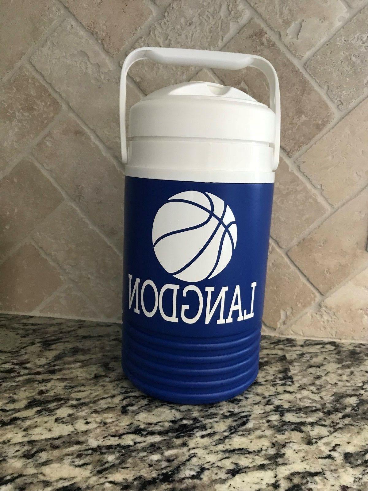 Igloo Gallon Cooler Sports Football Custom
