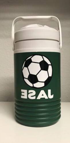 Igloo Gallon Football Personalized