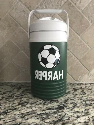 Igloo Gallon Sports Football Personalized