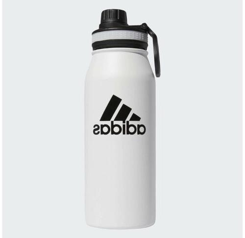 Adidas Steel Water Bottle Oz NWT Bottle Double