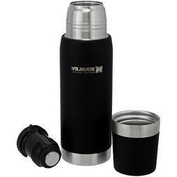Stanley Master Vacuum Bottle 25oz - Foundry Black SKU: 10-02