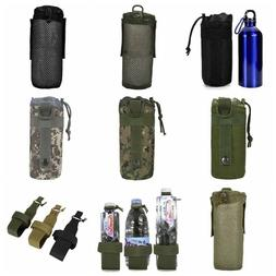 Outdoor Tactical Molle Water Bottle Bag Military Hiking Belt