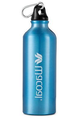 N Wacoal Aluminum Water Bottle 16 fl oz 500mL Blue Outdoors