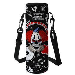 Neoprene Water Bottle Carrier Bag Pouch Cover Holder Cool Sk