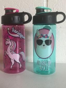 New Cool Gear 16oz BPA Free Water Bottles 1 No Drama Llama A