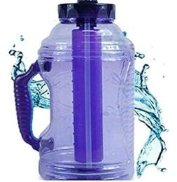 New! Cool Gear- 80oz EZ Freeze Water Bottle with  Handle Ice