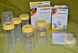 NEW Medela Breastmilk Bags, PersonalFit Connectors, Bottles,