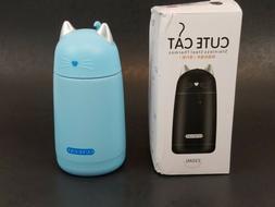New Cute Cat Thermos Mug, Drinkware Kids Water Bottle Light