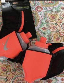 NEW Nike Running Reflective Double Flask 2 10oz Water Bottle