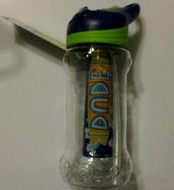 New! Cool Gear  Tritan 14 Oz  Ez-freeze Water Bottle with Si