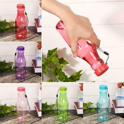 New Unisex Women Men Plastic Water Drinking Bottle for Outdo