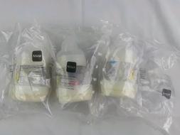 MAM Newborn Anti-Colic Baby Bottles 3 Pack & 3 Pacifiers 4.5