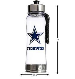 NFL Dallas Cowboys Clip-On Water Bottle
