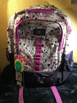 nwt eastsport backpack laptop sleeve water bottle