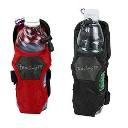 Camping Hiking Nylon Water Bottle Holder Backpack Belt Strap