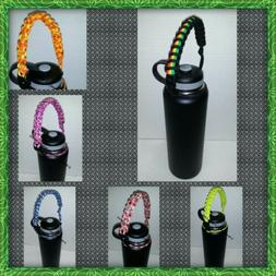 Paracord Handle for Water Bottles, Hydro Flask, & insulated