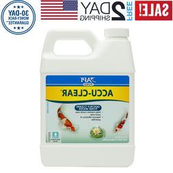 API-POND-ACCU-CLEAR-Pond-Water-Clarifier-16 and 32 oz-Bottle
