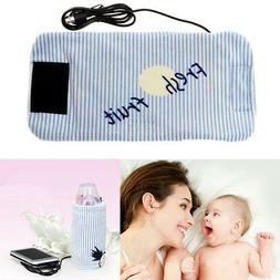 Portable Car Bottle Warmer Heater Travel Baby Kids Milk Wate